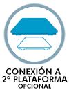 CONEXIÓN A 2ª PLATAFORMA OPCIONAL