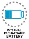 Internal rechargable battery in G-305 B model