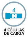 4 células de carga