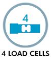 4 load cells