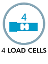 4 load cells
