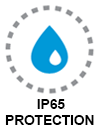 IP65 protection