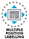 Multiple position labelling