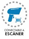 Conectable a escáner