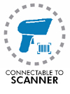 Connectable to scanner