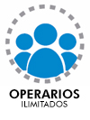 Operarios ilimitados