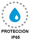 Protección IP65
