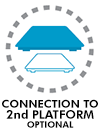 Connection to 2nd platform optional