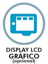 Display LCD gráfico opcional
