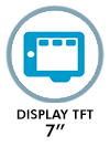 Doble display TFT 7