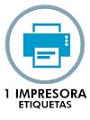 1 impresora etiquetas
