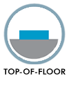 Top of floor