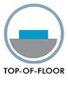Top of floor