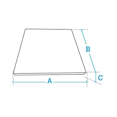 4 load cells top-of-floor or pit weighing platforms Dibal 4EI Series