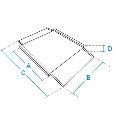 Plataformas de pesaje 4 células bajo perfil Dibal Serie 4PBPI