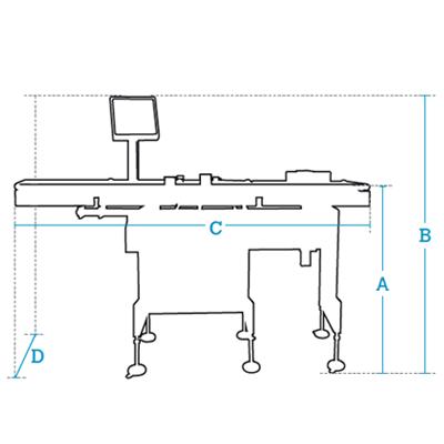 Controladoras automáticas de peso Serie CW-4500