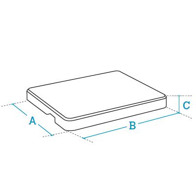 Plataformas de pesaje monocélula Serie DP