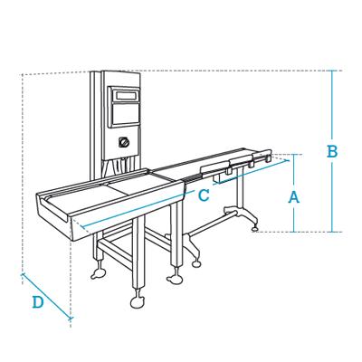 Clasificadoras automáticas por peso Dibal Serie GW-3000