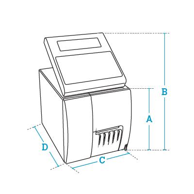 Etiquetadoras manuales Dibal Serie LP-3000