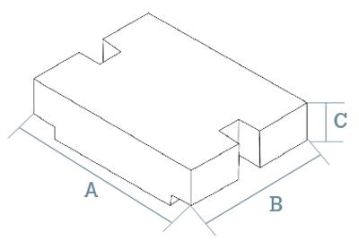 Pesas patrón planas M2